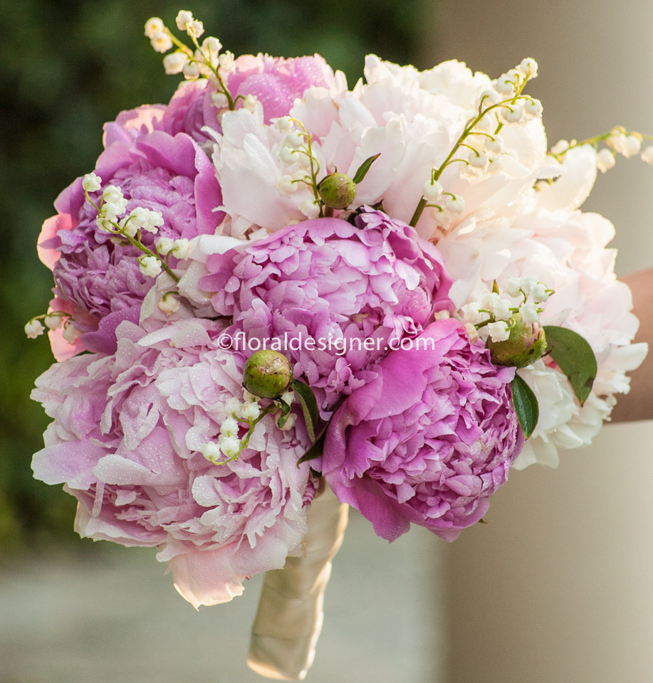 pastel, lavender, coral, peach, blush, peonies, roses, bridal ...